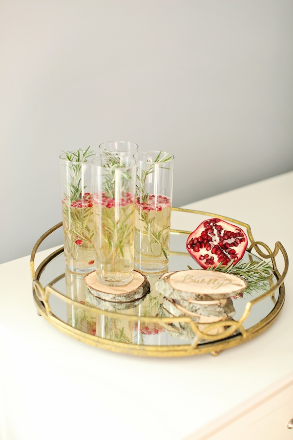 Drink a holiday cocktail diy wooden coasters for Drink coaster ideas